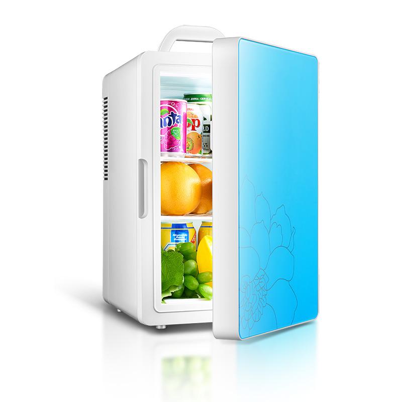 Barbara Ling 12V car refrigerator mini car refrigerator refrigeration mini car cigarette lighter dorm refrigerator