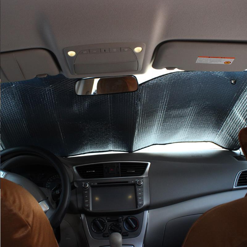 през лятото на автомобилни изолация слънцезащитен крем, запазването на алуминиево фолио, избягване на светлината през лятото слънцето преграда и бордовите продукти.