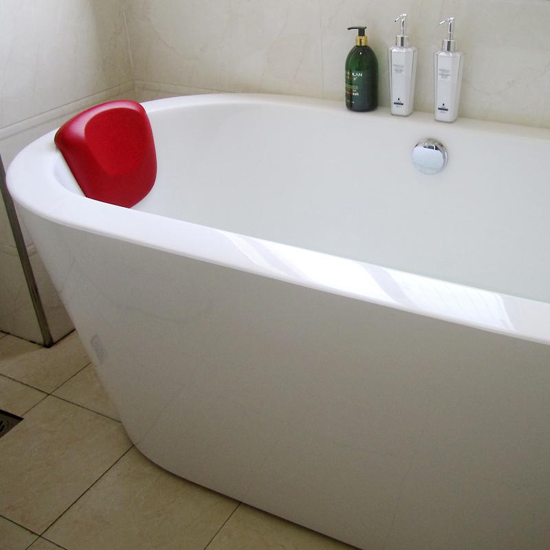 枕枕浴家庭用ホテルバスタブ防水護首クッションシリカゲル吸盤式のユニバーサルPUスリップクッションチューバ