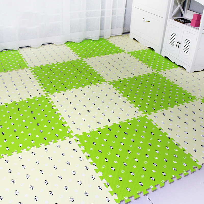 Large bedroom home square mosaic tatami mats foam sponge children climbing crawling floor thickening puzzle