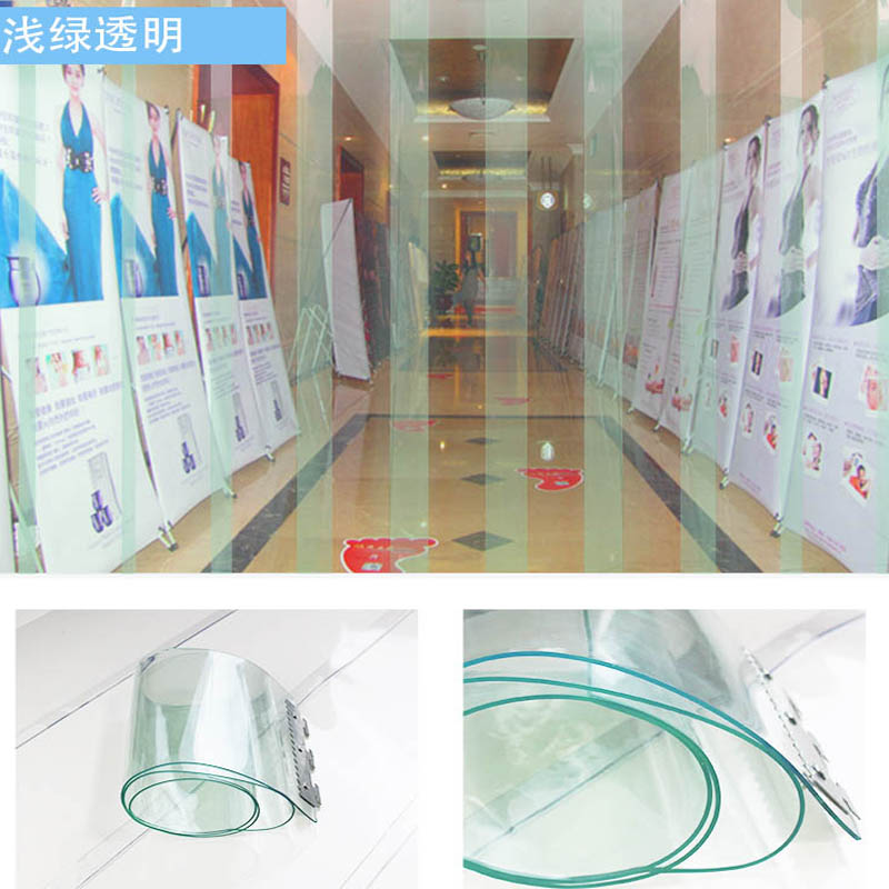 PVC plastic soft door curtain for cold storage, cold and low temperature air conditioning insulation block, air conditioner thickening partition curtain