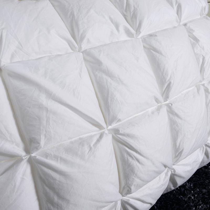 新型豪華五つ星ホテル専用羽糸枕枕綿高弾力四角シングル枕に