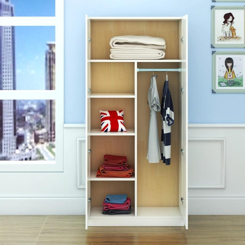 De nouveaux produits de bois de type 2 - de l'économie moderne d'assemblage d'une porte en bois de l'armoire de stockage de l'armoire simple simple