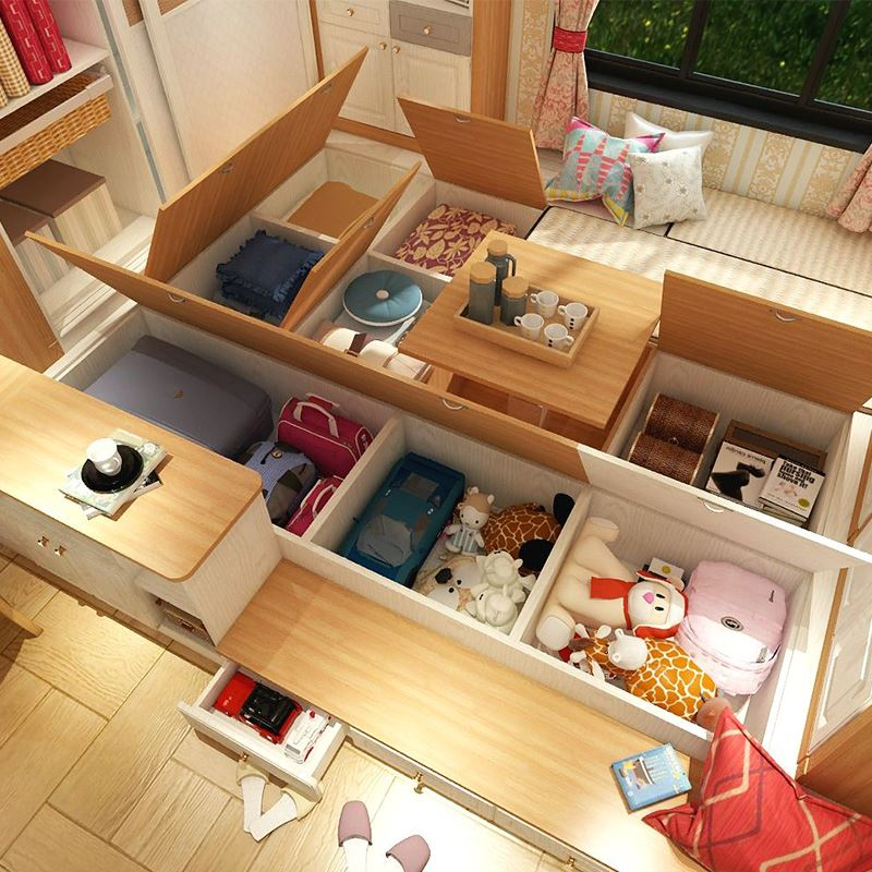Privilege deposit custom whole bedroom modern minimalist tatami tatami bed children's room the whole house