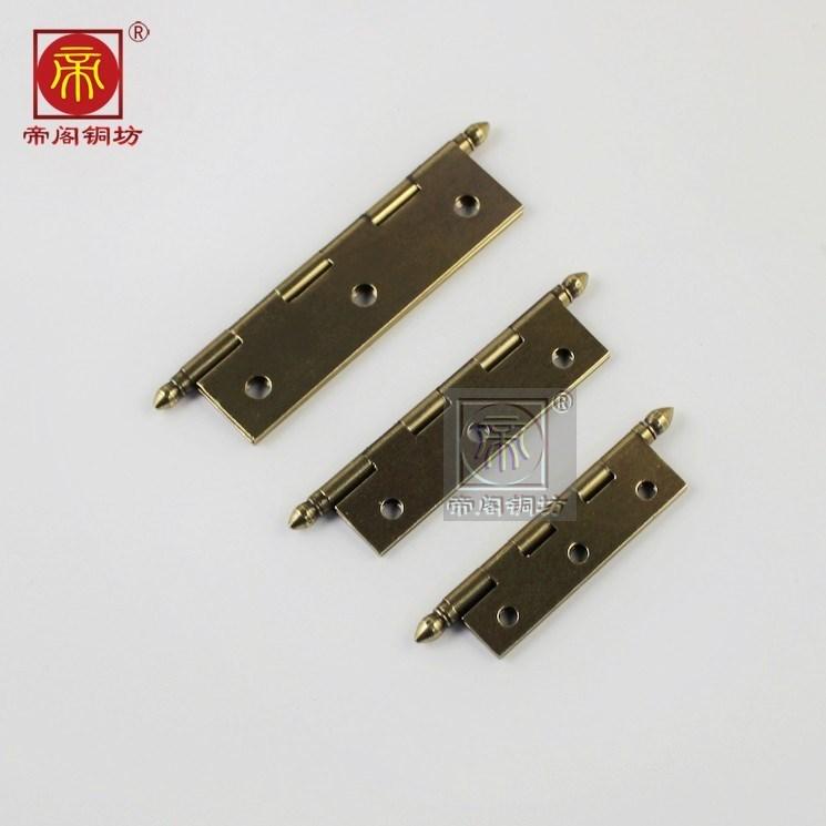 Cabinet furniture copper cabinet door hinge hinge door silent DG3132 pointed copper hinge