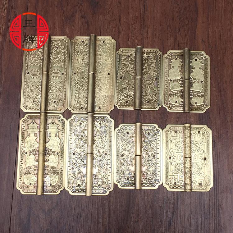Reines antike Kupfer - klassischen hardware - zubehör - Kabinett Buch 2,5 - Zoll - retro - scharnier.