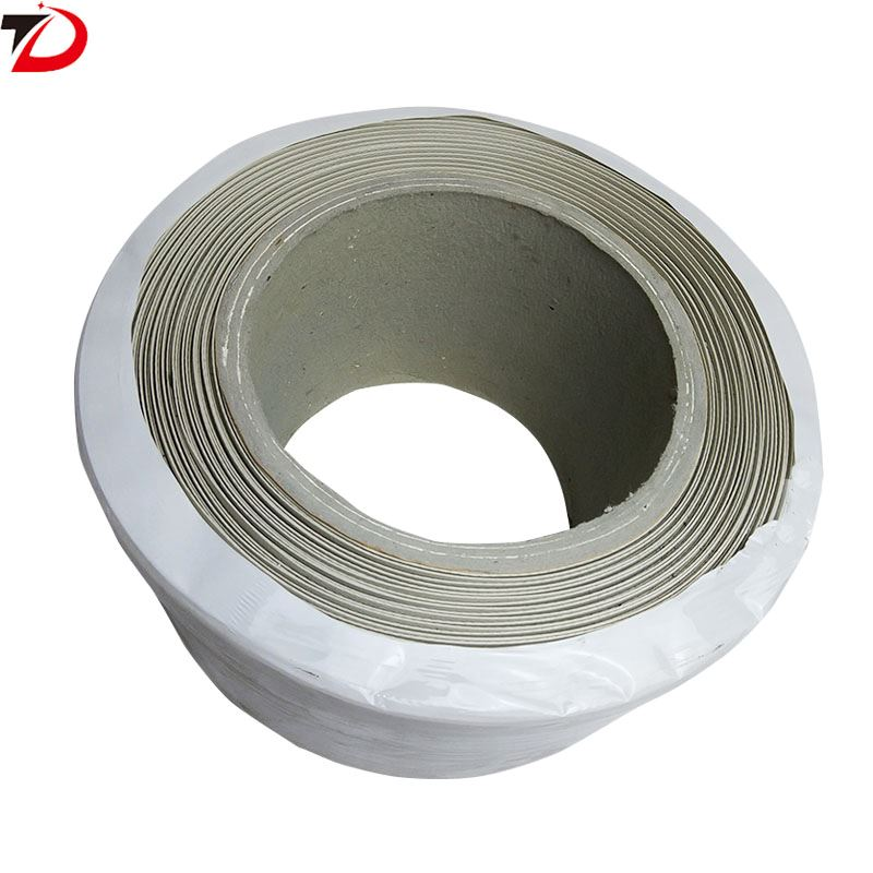 New material PP packaging belt white high quality semi automatic machine with hot melt plastic packaging belt 1500 meters PP strapping belt