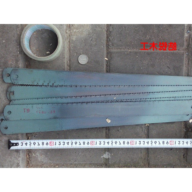 The new wind blade steel, Benxi steel hacksaw blade, shipping high-speed hacksaw embryo, old goods card machine.