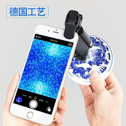 60 times expanded mirror antique LED portable handheld handheld jewellery microscopes microscopes of microscopes