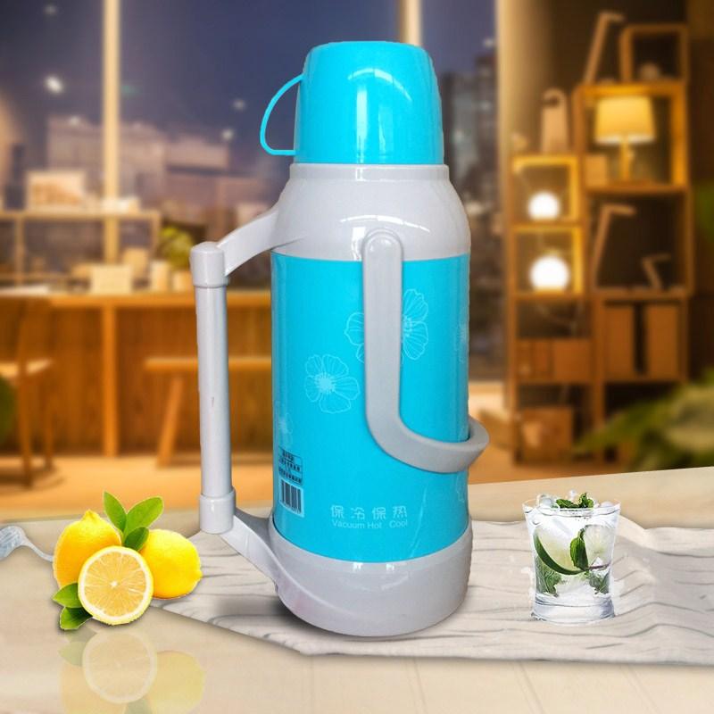 魔法瓶まほうびん魔法瓶家庭用プラスチック魔法瓶茶瓶ポット魔法瓶寮保温ポット皮殻