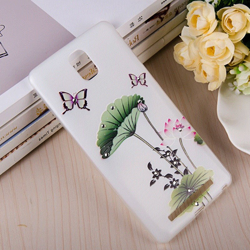 Jin m5plus mobile phone shell luxury diamond embossed gn8001 protective sleeve silicone soft shell and cartoon tide