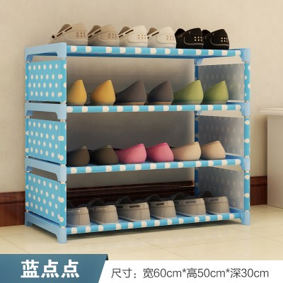 Special offer simple mini home, dormitory space economic type multifunctional dormitory stainless steel rack