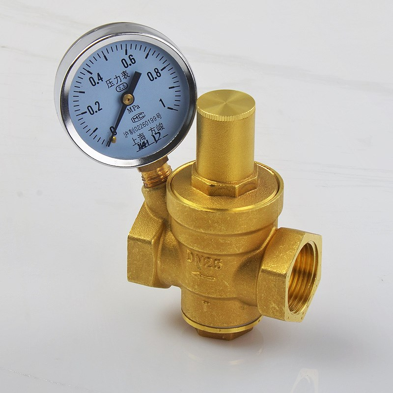 Household water pipe, brass hot water purifier, pressure reducing valve, 4/6