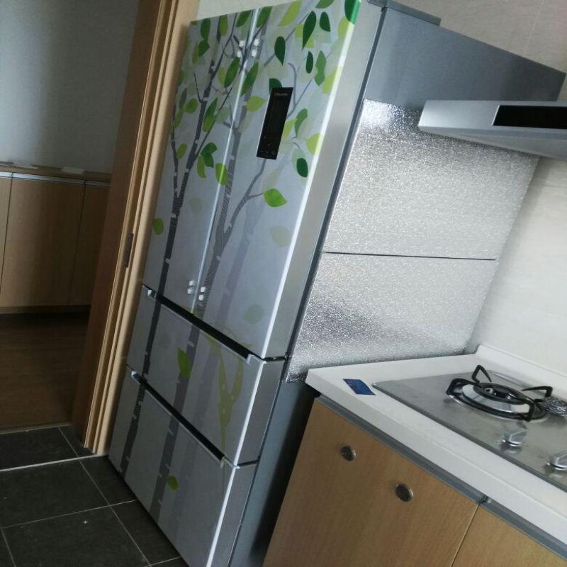 冰箱隔热板厨房防火隔热板防油污隔热板厨房灶台冰箱防火隔热板