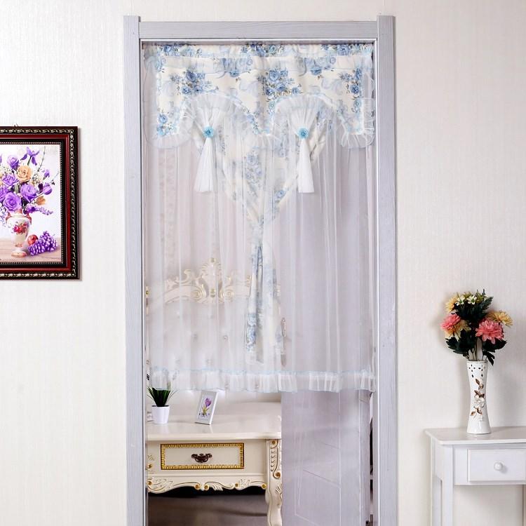 makuuhuoneen ovi kangas keittiön verhot puolen verho wc - verho puolet koriste, joka jopa pieni verhot!