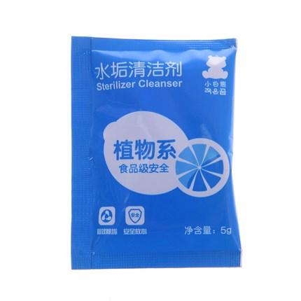 sidrunhappe jääkaru toidu klassi skaala raipesööja, juua masin detergentide puhtam vesi 20 kotti