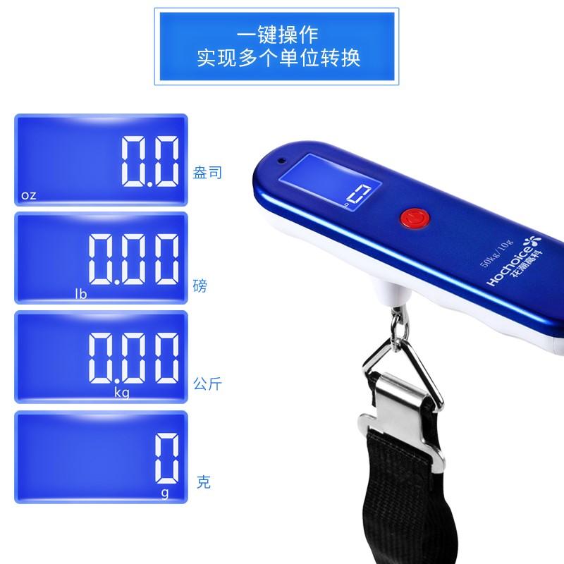 Bloem / mini - draagbare schaal 50kg precisie elektronische weegschalen van draagbare elektronische dat bagage schaal
