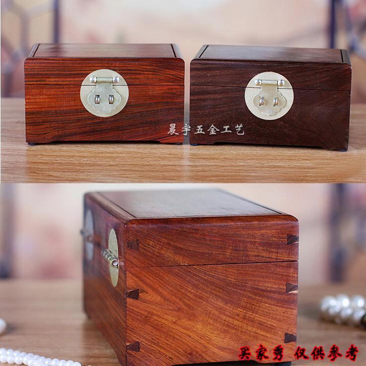精銅箱バックルアンティークロック箱牌白銅部品金属木盒のスーツジュエリーボックス官トランク部品蝶番