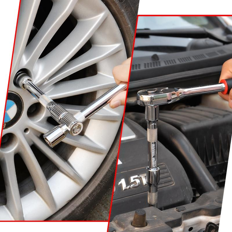 The sleeve is sheathed aftermarket car and motorcycle repair vehicle kit ratchet hardware tool combination wrench