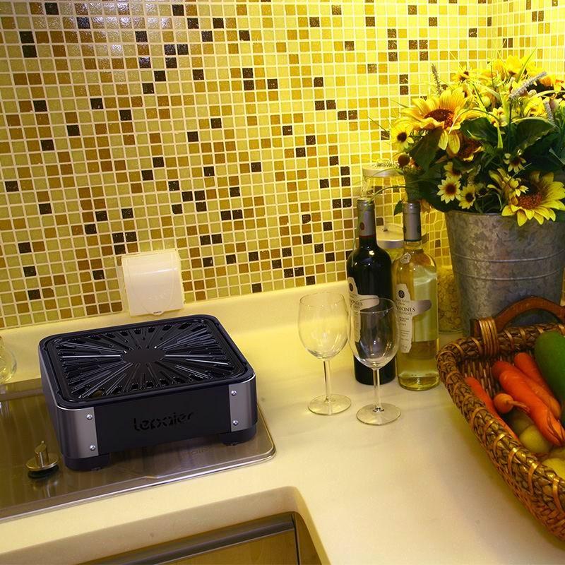 портативный диск домашнего очага барбекю в помещениях для барбекю полки кухне газовая печь