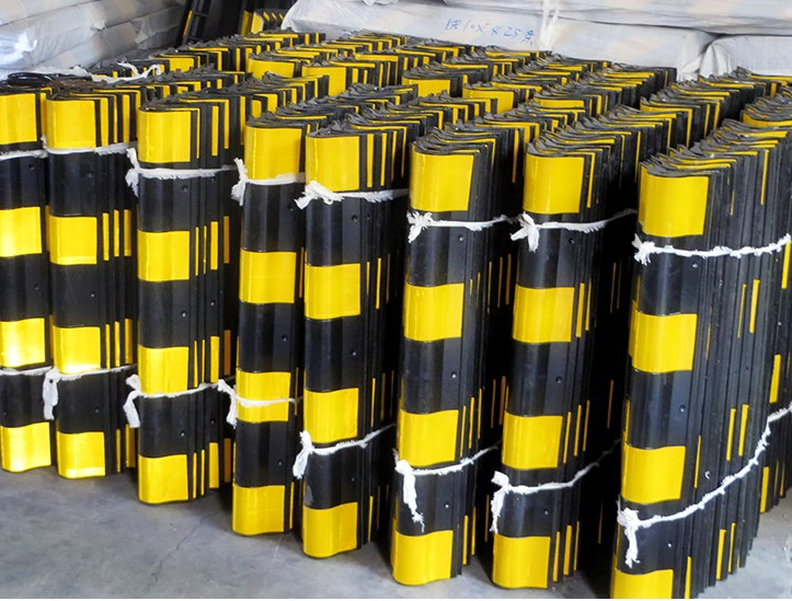 1 meters 2 round rubber bead shop parking lot wall protector strip reflective warning strip retaining wall
