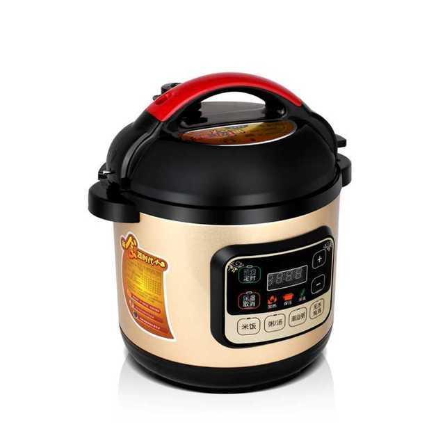 طنجرة ضغط كهربائية صغيرة ل ميني 1-3 شخص ذكي طنجرة ضغط طباخ الأرز طباخ سكن الطلاب موعد توقيت 2-5