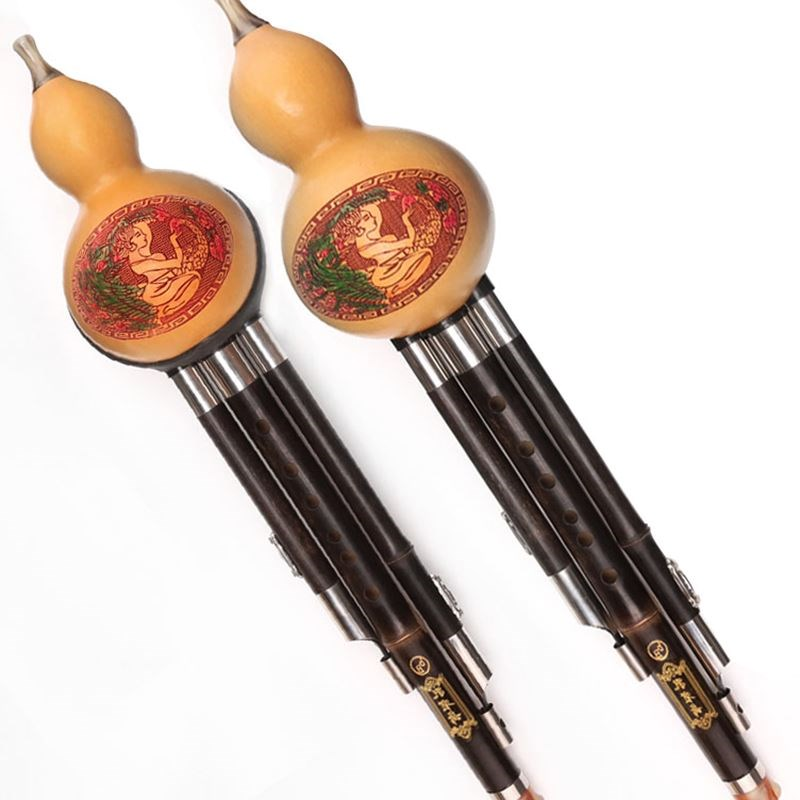 Las 箶 Lu de seda seda alumnos principiantes zizhu hulusi C rebaja de instrumentos musicales 胡芦丝 enseñar a B.