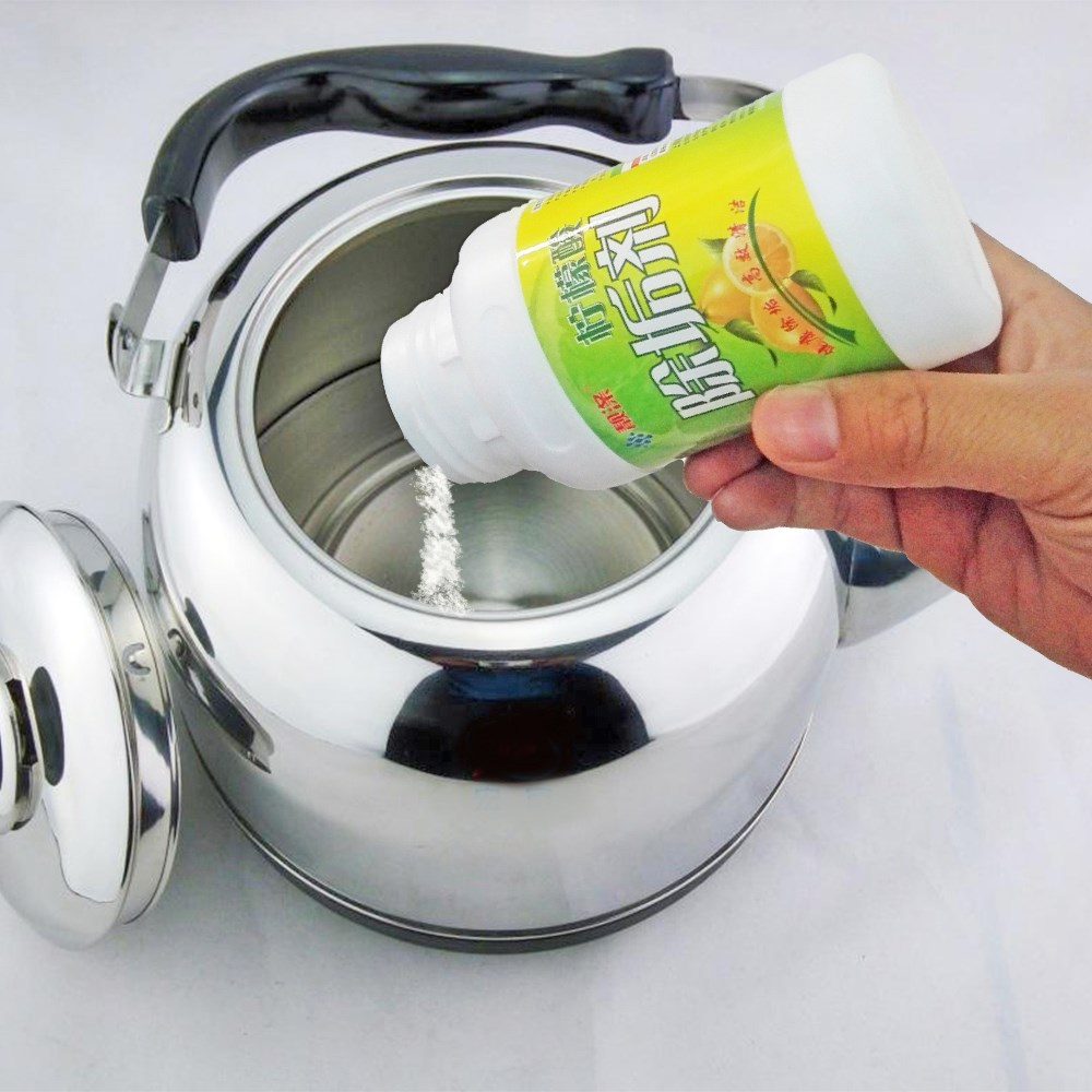 Household cleaning kettle kettle scale citric acid detergent cleaning agent cleaning agent scale scavenger