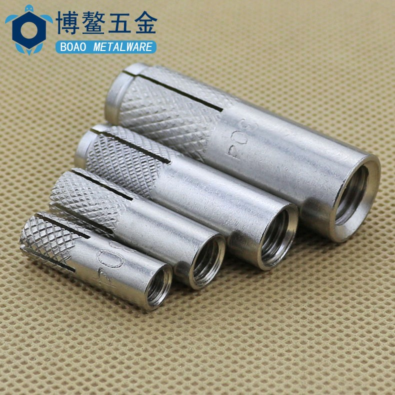 304 stainless steel GB explosion internal expansion tube iron implosion house lizard flat explosion screw M6M8M10M12M16