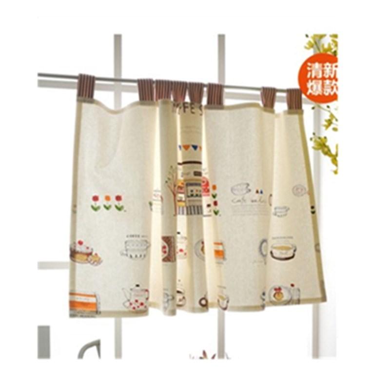 ze závěsů vak na poštu 棉麻 záclony v kuchyni kafe z půl závěs ze závěsů kreslený 布帘 malý feng shui závěs ze sprchy