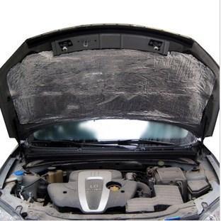 Automobile noise proof cotton, aluminum foil type engine, engine cover, door noise proof pure aluminum plate, sound insulation and heat insulation cotton pad, rust prevention