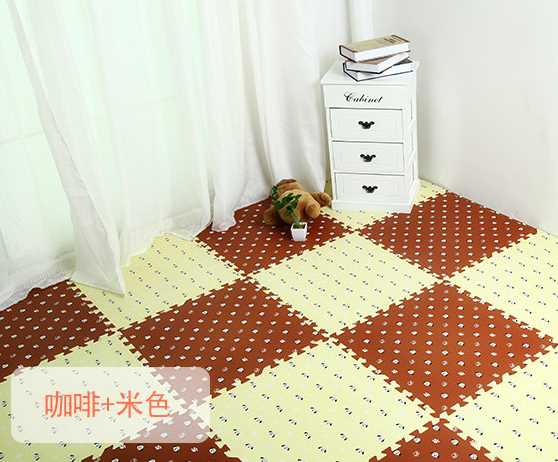 European box stitching machine washable children bedroom carpet mats covered with tatami room crawling mat