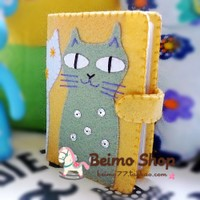 [original] Rebecca ink handmade cloth DIY nonwoven material package 20 package card set glutton