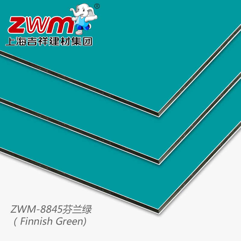 shanghai kedvező 铝塑 lap /3mm12 selyem / finnország zöld / belső fal külső fala a speciális 铝塑 reklám