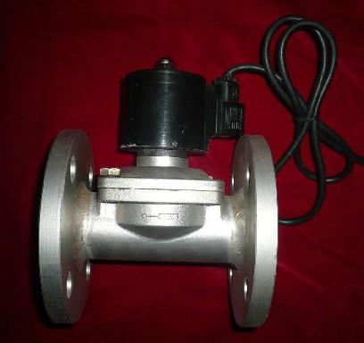 El emblema está 2W500-50 / UW-502 pulgadas de acero inoxidable agua válvula solenoide DN50AC220V cierra la pestaña