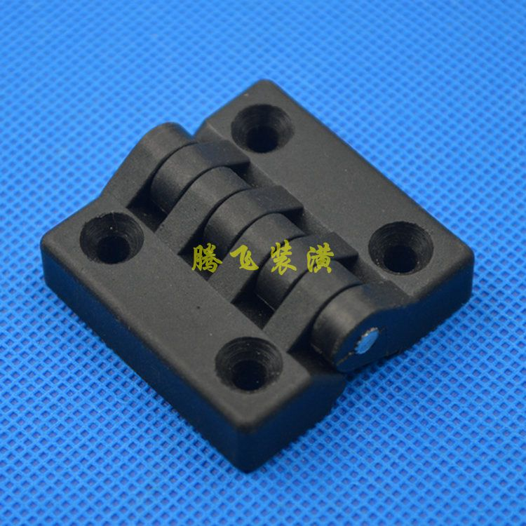 Plastic hinge / electric cabinet hinge / nylon hinge / hinge hinge / dimension 40*40/ hole distance 25*25MM