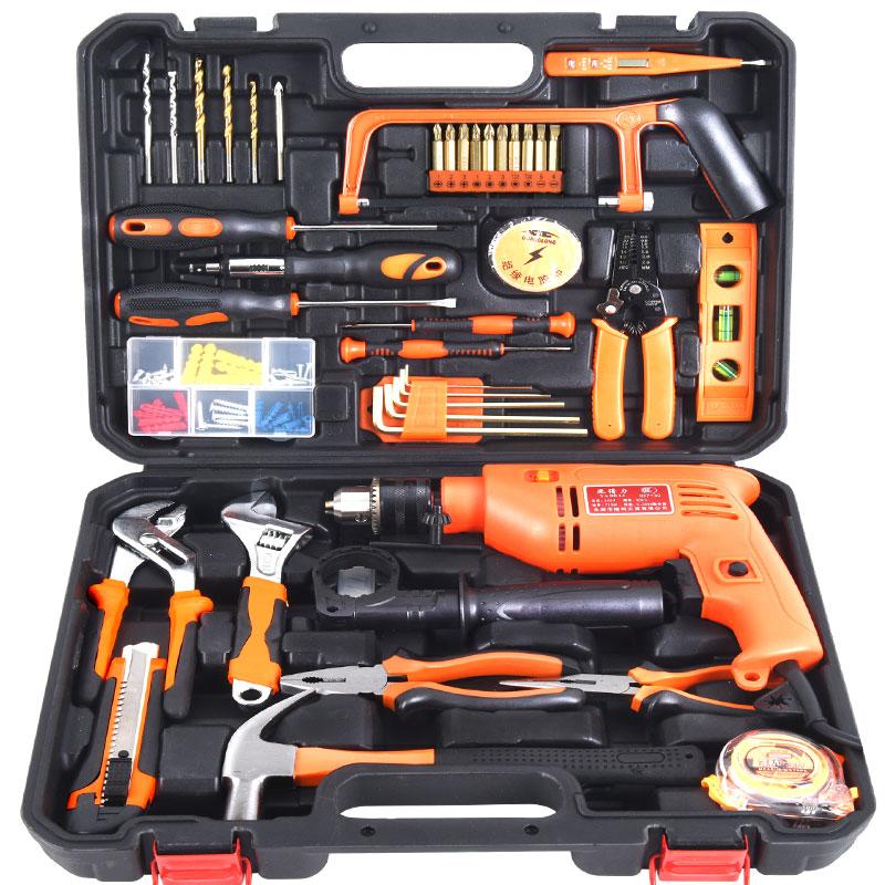 Manutenzione di attrezzi per la riparazione di Automobili Hardware Kit domestico per la Lavorazione DEL LEGNO Multi - funzione di Kit per l'elettricista.