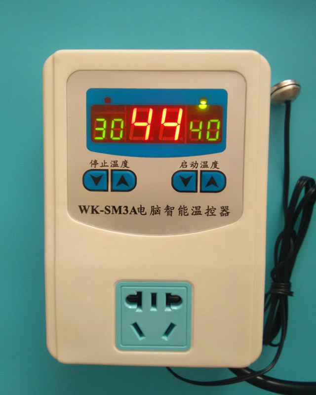 Special digital display breeding thermostat, heating floor circulating pump thermostat, water pump intelligent temperature control switch