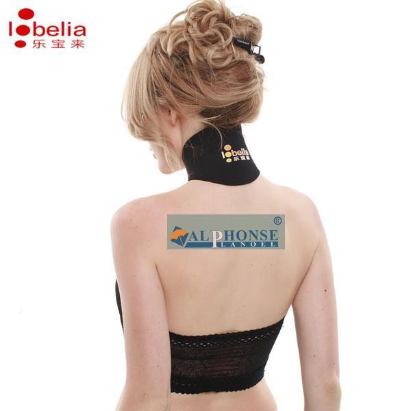 Col de protection auto - chauffant de vertèbres cervicales avec protection de cou de magnétothérapie Minerve cervicale de confort thermique