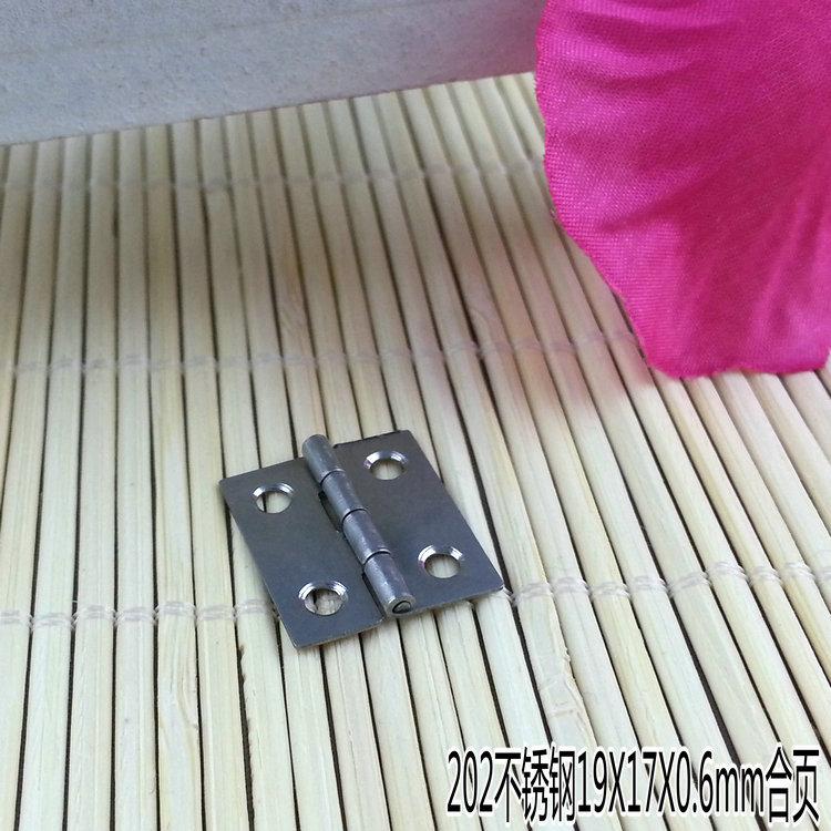 202 aus rostfreiem Stahl auf die Seite der Kleinen scharnier 0,5 zentimeter etwa 0,6 mm Edelstahl - scharnier aus angeln ein Preis