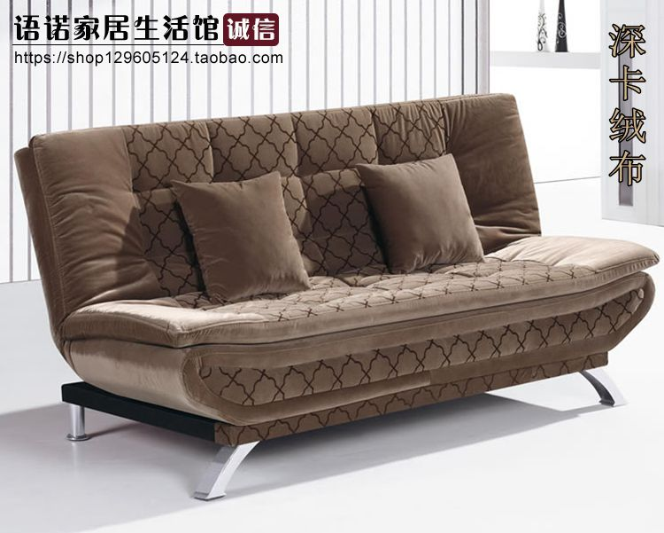 イケア特価单双三人に1 . 2 / 1 . 5 / 1 . 8メートルの布で多機能寝室リビング折りたたみソファベッド
