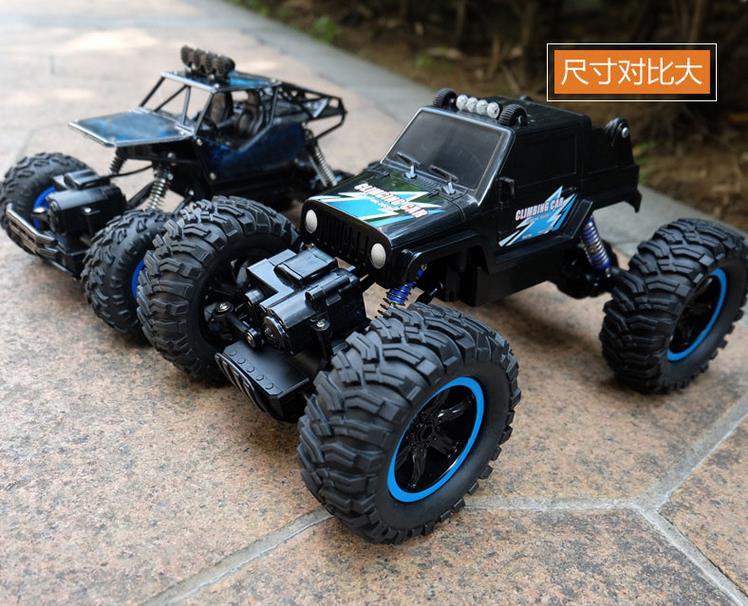 Racing, ferngesteuerte autos, überdimensionalen geländewagen - Junge Kinder klettern - DAS spielzeug - auto