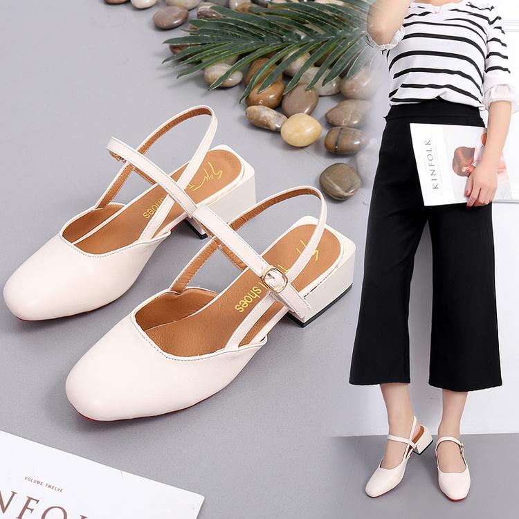韩版夏季新款玛丽珍鞋