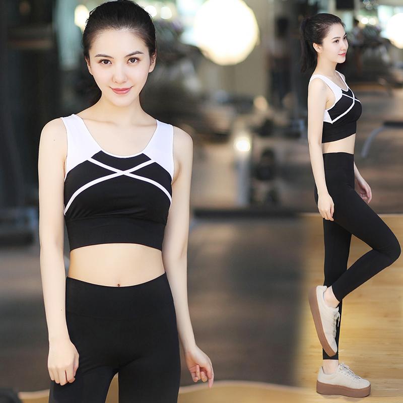 Yoga - südkorea anzug im frühjahr und Sommer trocken - bis 2017 Frauen sporthalle catsuit jogginghose laufen deutlich dünner yoga - kleidung