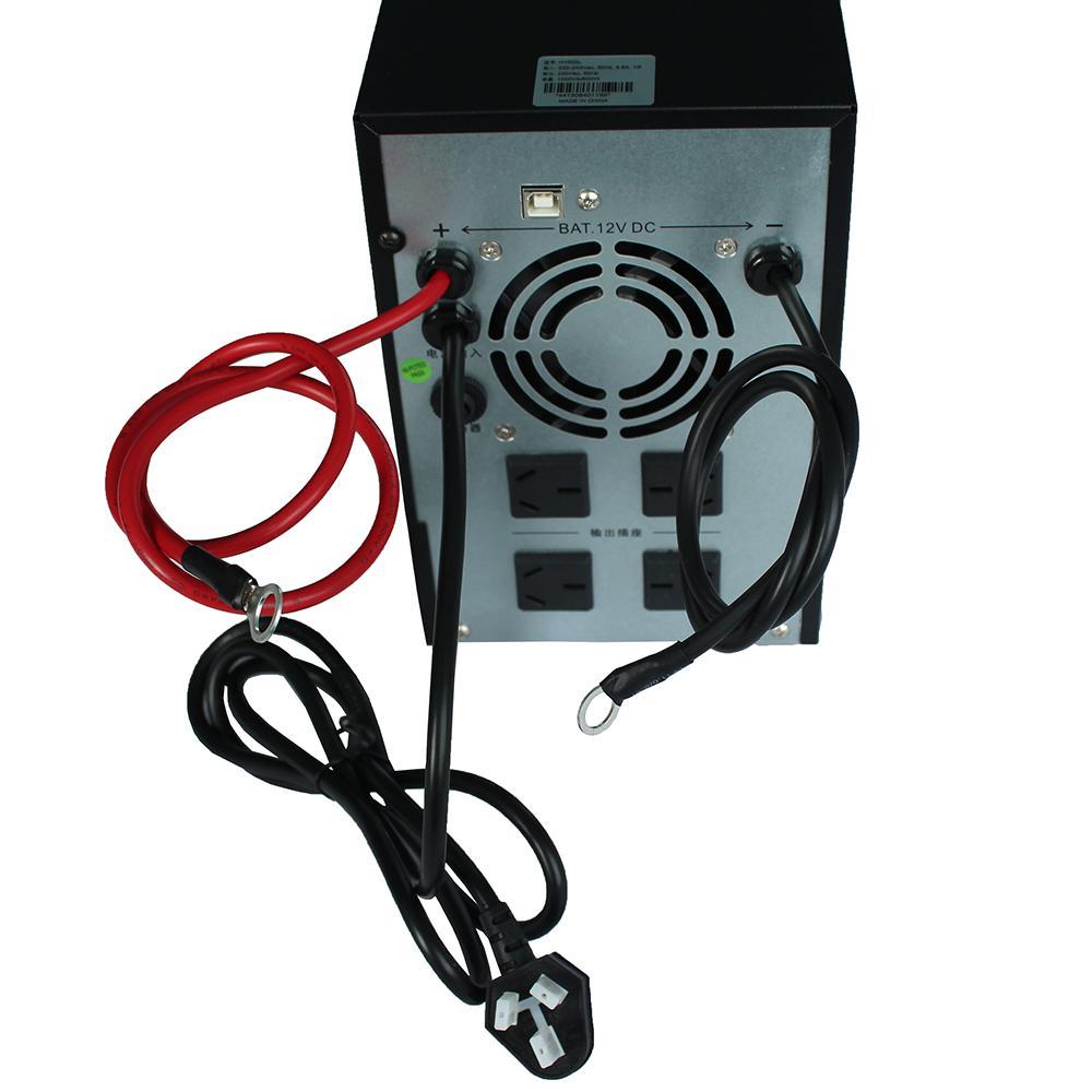 H2000lups unterbrechungsfreie stromversorgung 2000va1200w externe 24V - Batterie Lange Verzögerung