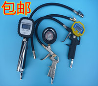 Inflatable table barometer of the automobile tyre press tire pressure gauge pressure gauge with high precision digital tire shipping