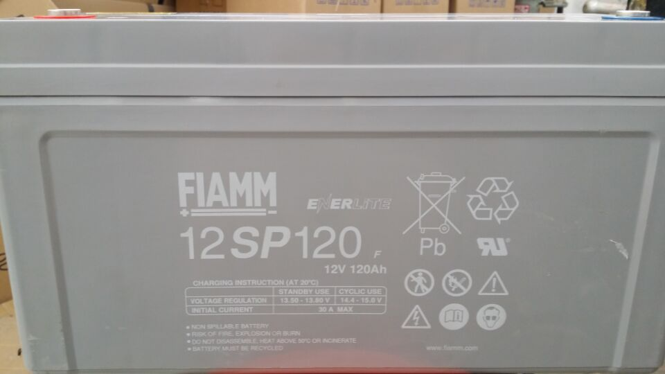 Italy fiamm special battery 12sp120 lead acid free maintenance DC screen UPS special 12v120ah