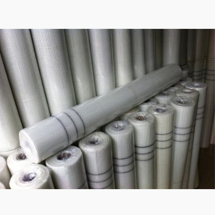 The glass fiber mesh cloth stretched mesh wall crack control grid cloth 1 meters wide and 50 meters long