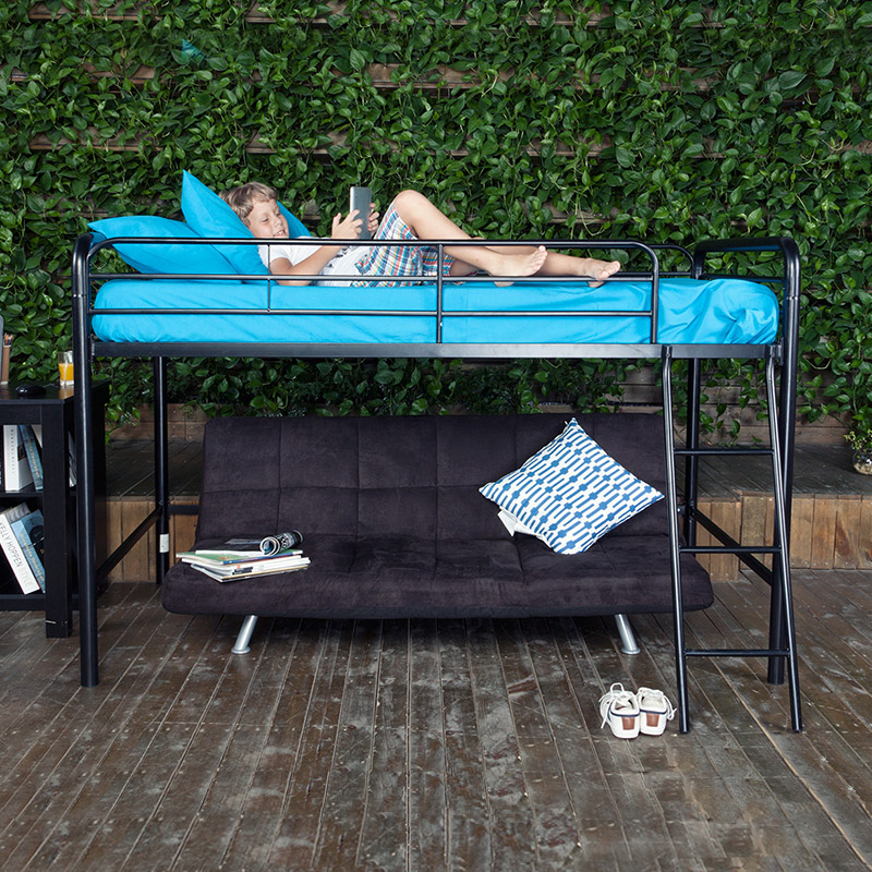 Yi Jen iron creative bed Tieyi bed bed bed bed bed European iron elevated dorm bed