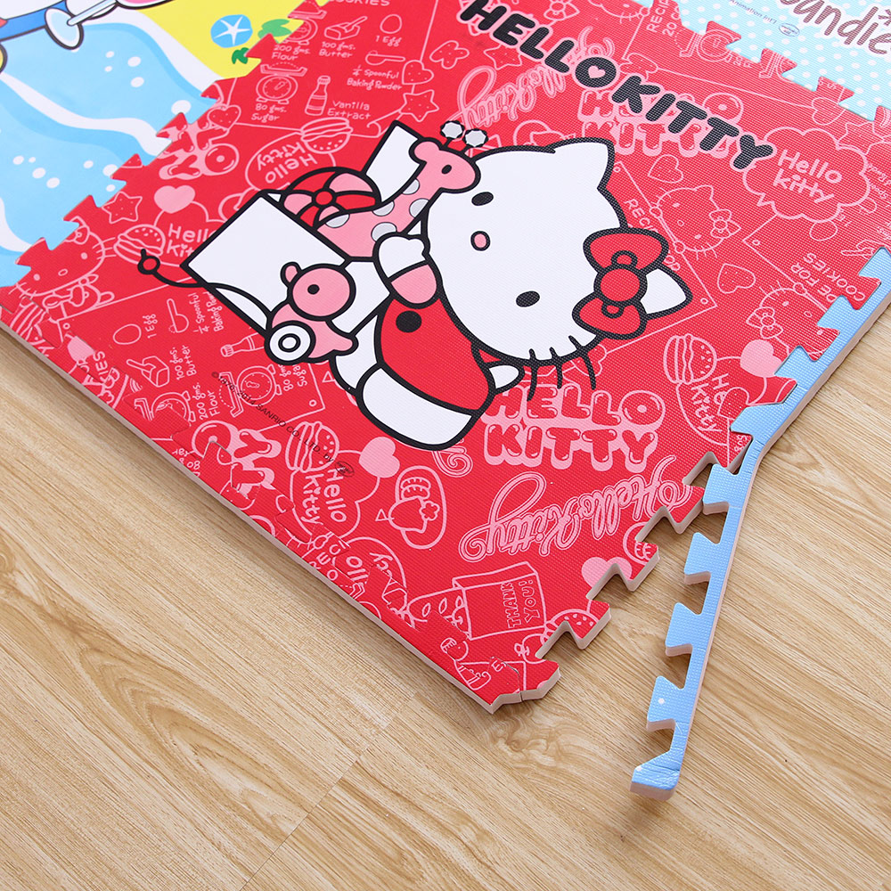 Cute cartoon mosaic puzzle mats mat children bedroom tatami floor crawling baby foam pad